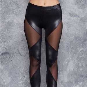 BFF Blackmilk Spliced leggings